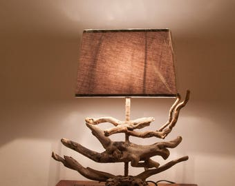 Very contemporary Driftwood lamp