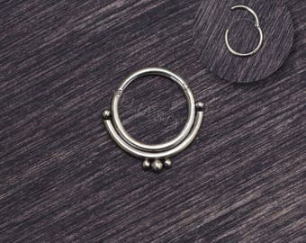 Surgical Steel Septum Jewelry 16g - Septum clicker, daith jewelry