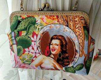 Handmada beautiful girl  single-shoulder bag