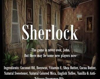 Sherlock Characters Lip Balms