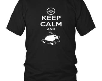 Cool Pokemon Snorlax Shirt–Awesome Gift For Pokemon Fans –Pokemon t Shirt –Original Pokemon Shirts and Gifts –Pokemon Shirt for Men & Women