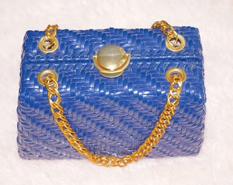Elegant Vintage Straw Purse