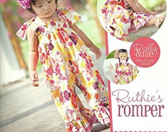 Izzy and Ivy Designs Ruthie's Romper Pattern
