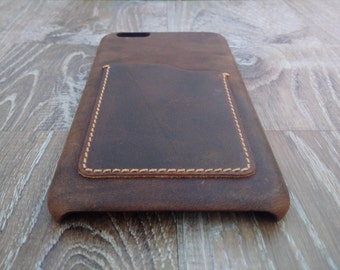 Iphone 7 / 7 plus   fine leather case, vintage Leather case , phone case , Leather Phone case