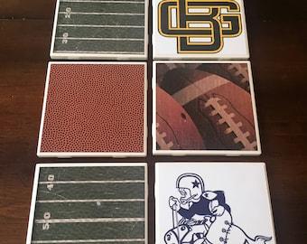Set of 6 NFL Coasters