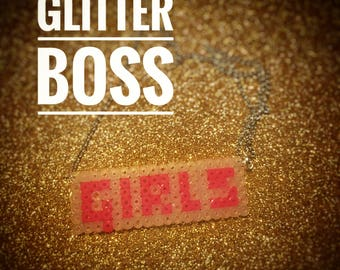 Girls Neon Sign necklace / choker