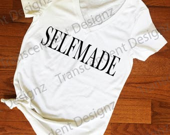 Selfmade Women's Graphic Tee, Women's Graphic Tee, Graphic Tee, Women's Tee