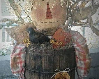 Kay's Primitive Designs Scarecrow Henry Pattern Packet