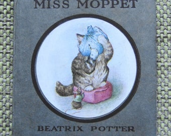 Beatrix Potter: The Story of Miss Moppet (c1925) - Very good condition