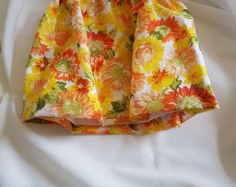 Babys sunflower skirt 6 to 12 months
