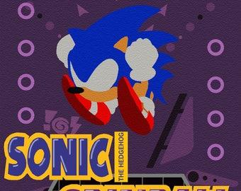 Sonic Spinball - Sega MegaDrive/Genesis print (#003)