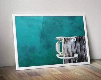 Large Ocean Poster, Large Ocean Wall Art, Ocean Wall Decor, Ocean Wall Art, Ocean Printable Art ,Ocean Wall Print, Photography, Printables