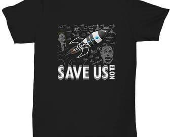 Save Us Elon T-Shirt - Gift