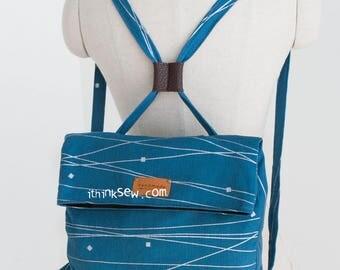 1192 Cali Foldover Backpack PDF Sewing Pattern