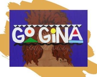 Go Gina (SZA CTRL Martin Lawrence 90's Art)