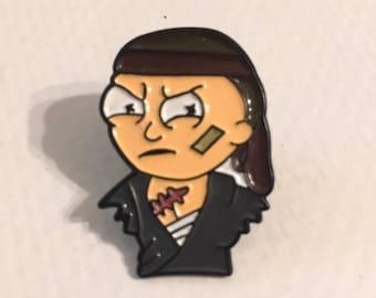 Morty Hatpin Lapel Pin