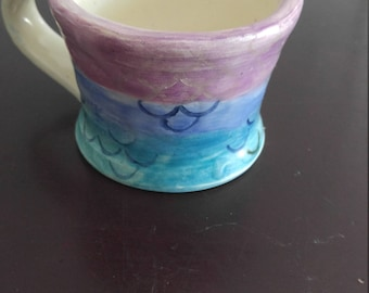 Mermaid Tea Cup