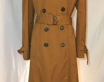 80s London Fog Trench Coat Size 12  Maincoats Women's