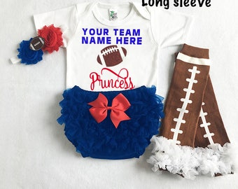 baby girl uk jayhawks football - uk jayhawks baby - uk jayhaks baby girl outfit - football leg warmers - university of kentucky jayhawk baby