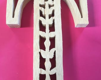 Wooden Letters, Wooden Numbers, crafted with scroll saw