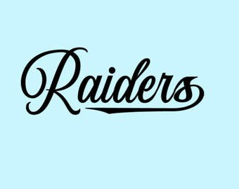 Raiders SVG