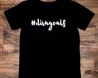 Diva Goals Shirt | #Divagoals | Diva Goals | Girls Diva Shirt | Diva Shirt | Toddler Diva Shirt | Baby Diva Shirt | Diva Onesie | Diva
