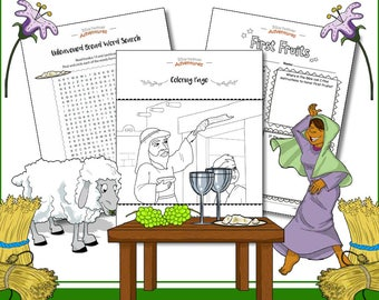 The Spring Feasts Activity Book: Passover, First Fruits, Shavuot and The Sabbath