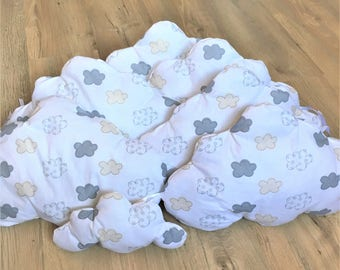 Bumper cloud and his blanket for boy or girl