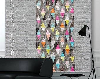 Bright Diamonds pattern by Brigitte Heitland from Zen Chic