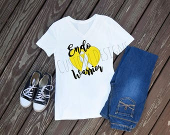 Endometriosis Awareness Tee, Endo Warrior Shirt, Endometriosis Tee