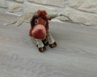 Reindeer plush toy Christmas decoration