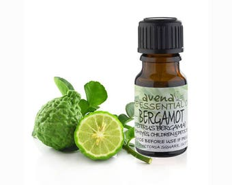 Bergamot Essential Oil 100% Pure 10ml, 30ml, 50ml, 100ml (Citrus bergamia) - Aromatherapy - Massage & Bath - Pure Carrier and Fragrance oils