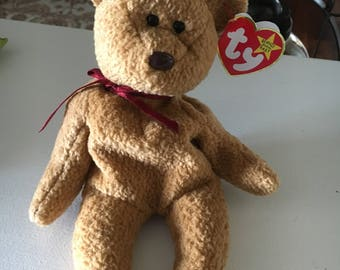 "TY Beanie Baby - ""CURLY""  - Several ERRORS!"
