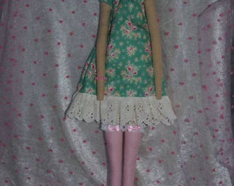 cloth doll style tilda decor