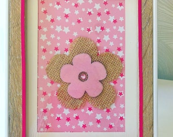 frame for little girls room decoration