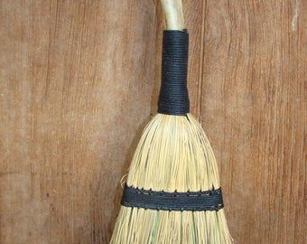 Small Broom With Antler Handle Witches Broom Besom Wisk Broom