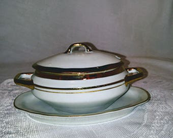 Miniature Casserole Soup Tureen
