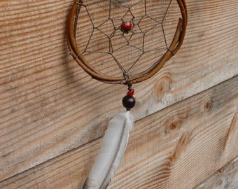 DreamCatcher with feather Dove