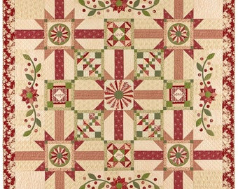 SALE SALE SALE Vintage Rouge Quilt Kit