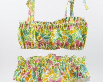 Maillot de bain fillette Liberty Poppy and Daisy- JoliPim'
