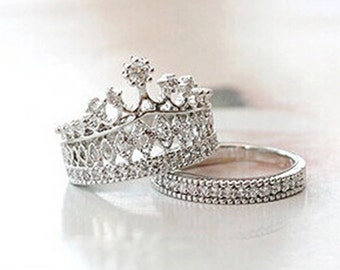 King Crown Stack Ring