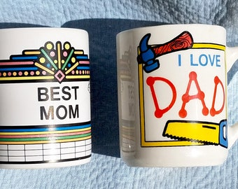 Parents, Best MOM and I Love DAD, Coffee Mugs