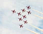 Red Arrows Blank Greeting...