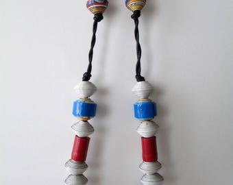 Asian paper Bead Necklace