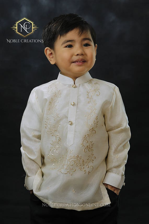 Barong tagalog wedding chinese collar for Barong tagalog wedding dress
