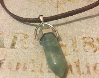 Light Green Chakra Necklace