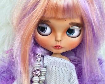 Sale! Angela, Blythe doll, Custom blythe doll, Makeup blythe doll, OOAK blythe, Custom doll,  Blythe TBL, Interior doll, Blythe handmade