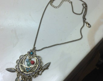 Indian bohemian necklace