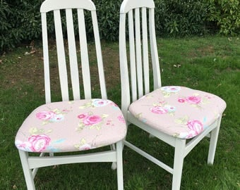 Set of 4 Refurbished Dining Chairs