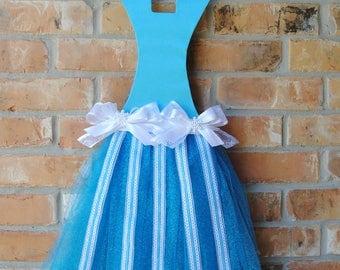 Elsa Frozen Inspired Tutu Hair Bow Holder Wall Decor